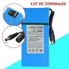 DC-12200 DC 12V 20000mAh Rechargeable Portable Li-ion Battery For CCTV Camera