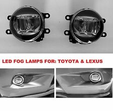 1 PAIR REPLACEMENT LED FOG LIGHT LAMPS FOR LEXUS TOYOTA 81210-48050 81220-48050