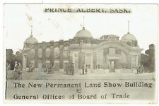 Prince Albert Sask, Canada New Land Show Building General Offices Board of Trade