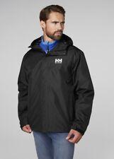 Helly Hansen Seven J Jacket Men's Waterproof Jacket 62047/992 Black NEW