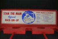 1964 Stan Musial Official Rack-Um-Up Bat Baseball Rack Autograph Signed TriStar