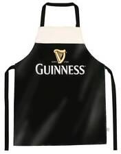 Guinness Designed Livery PVC Apron With Harp Design, Black Colour