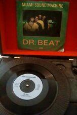 "Miami Sound Machine – Dr. Beat Vinyl 7"" P/S Single UK EPIC A 4614 1984"