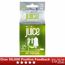 Juice Lightning Cargador De Coche 1 Amp Apple aprobado (iPhone/iPod/iPad) - Verde