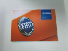 Manuale autoradio Fiat Croma Edizione 2006   [3324.14]