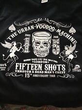 The URBAN VOODOO MACHINE Black Short Sleeved T-Shirt  Size 2XL Bnwot