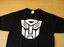 Funny T-Shirt Transformer Logo Black Color  (Size L)