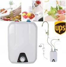 New 110V1500W 8L Instant Electric Tankless Hot Water Heater Home Whole House