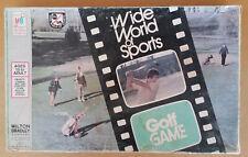 Vintage 1975 Wide World of Sports Milton Bradley Golf Game