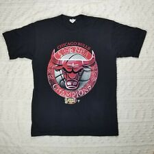 Chicago Bulls 1998 NBA Championship T-Shirt Men's Large Starter Michael Jordan