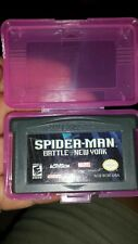 Spiderman Battle For New York GAMEBOY ADVANCE With Case - FREE POST *