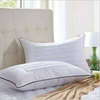 Luxury Bed Pillow Premium Fiber Fill Buckwheat Cover Queen Pillow Bedding Pillow