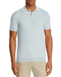 The Men's Store Bloomingdales Tipped Chevron-Stitch Classic Fit Polo Shirt