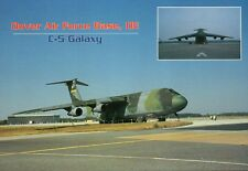 C-5 Galaxy Military Aircraft Airplane Dover Air Force Base Delaware --- Postcard