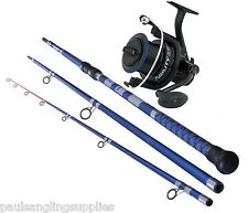 Shakespeare Agility15 ft Fishing Rod & 80 Reel Combo Beach  Beachcaster Pier