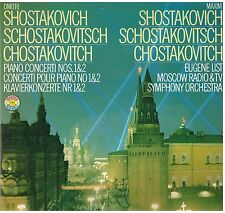 Shostakovitch: Piano Concerti N.1 & 2 / Eugene List, Moscow Radio & TV Symph. LP