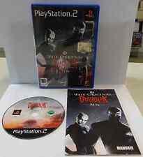 Gioco Game SONY Playstation 2 PS2 PAL ITALIANO DIABOLIK THE ORIGINAL SIN Ita It