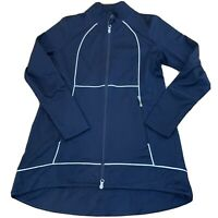 Jofit Womens Golf Jacket Size Small Navy Full Zip B123