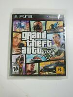 Grand Theft Auto V Five (PlayStation 3, 2013) PS3 Free Shipping