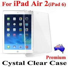 Premium Crystal Clear Hard Case Cover For iPad Air 2(iPad 6)(Ultra Thin Skin!)