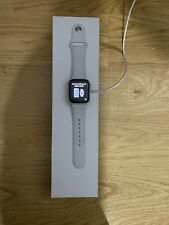 Apple Watch Series 5 40mm Silver Case White Band - MWWN2LL/A