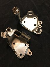 Harley Davidson Chrome foot peg mounting control brackets 00-up fx softail