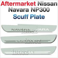 White LED Light Scuff Plate Door Sill Kick Side Step Nissan Navara NP300 D23 OZ