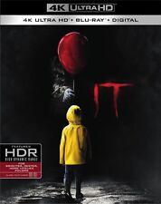 IT 4K UHD + Blu-ray + Digital HD + FREE SHIPPING #StephenKing #Horror #Pennywise