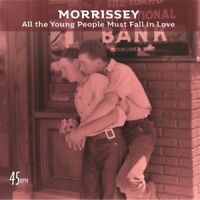 """Morrissey - All the Young People Must Fall in Love (NEW 7"""" CLEAR VINYL)"""