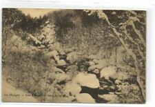 1 postkaart Hoegne De Cascatelles in Da sneeuw Rocky River