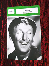 BOURVIL  - MOVIE STAR - FILM TRADE CARD - FRENCH- #1