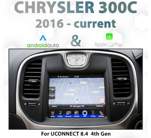 Chrysler 300C 2015 - Current UConnect Integrated CarPlay and Android auto
