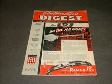 Automotive Digest December, 1943 From A To Z: Do The Job Right!          ID:8757