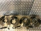 Ford Transit Custom Front & Rear DRILLED & GROOVED Discs &  Pads 2.2TDCi 2012-