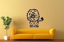 Wall Stickers Vinyl Decal for Kids Nursery Lion Cartoon Animal ig1353