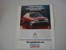 advertising Pubblicità 1976 SIMCA 1307 - 1308