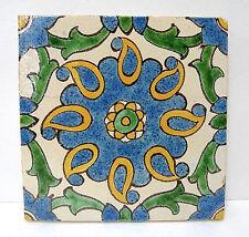 Kraftile Vintage Tunisian Style Floral Tile California