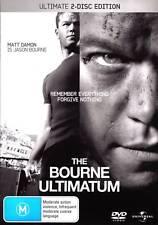 The Bourne Ultimatum 2 Disc Set New DVD Region 4 Sealed