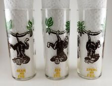 3 Wise Monkeys - See No Evil Hear No Evil Speak No Evil Glasses - Federal Glass