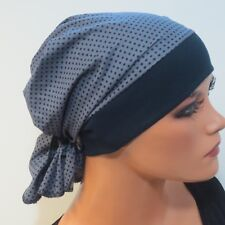 Breites Haarband Turban Bandana CHEMO Sommermütze festlich EXTRAVAGANT-Farbwahl