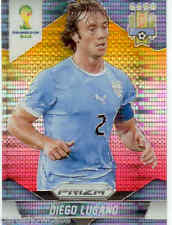 2014 World Cup Prizm Yellow Red Parallel No.191 D.LUGANO (URUGUAY)