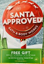 BATH & BODY WORKS Coupon Gift With $10 Purchase - Use By December 24