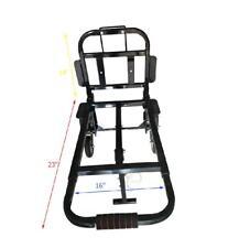 US Portable Stair Climbing Folding Cart Climb Hand Truck Backup Wheels Black