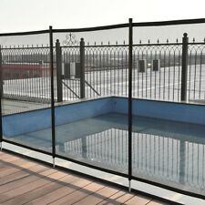 New listing Lightweight In-ground Swimming Pool Safety Fence Durable Aluminum Climb Proof