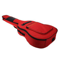 41'' Guitar Double Straps Padded Electric Acoustic Soft Case Gig Bag Backpack