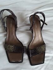 Nine West Leather Sandals size 8