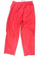 NWT Turfer Men Athletic Outer Wear Polyester Mesh Lined Red Windbreaker Pants XL