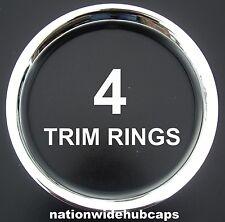 "CHEVY 14"" CHROME TRIM RINGS BEAUTY BANDS GLAMOUR WHEEL RIM STEEL WHEELS LUG RIMS"