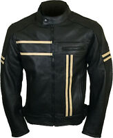 Motorcycle Motorbike Biker Sports Fashion Style Leather Jackets
