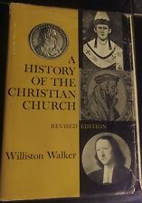 A History of the Christian Church Revised Edition by Williston Walker vintage